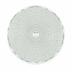 Dickson Chart, 8 In, -20 to +20 F/C, 7 Day, PK60   C448