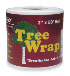 "Dewitt 3"" x 50 ft. Polypropylene Tree Wrap, White; PK1 3"" x 50 ft. G-TW3W"