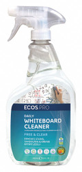 Dry Erase Board Cleaner, Removes Ink, Dirt From Dry Erase Markers, 32 oz.