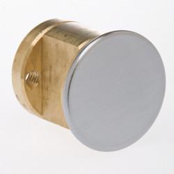 Kaba Ilco Lockset Cylinder, Rim Dummy Cylinder Satin Chrome  Brass  7010DC-26D