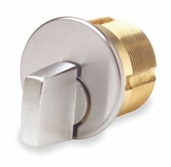 Kaba Ilco Lockset Cylinder, Commercial Satin Chrome  Brass  7181TK1-26D