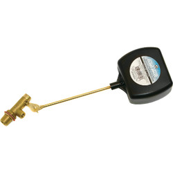 Dial 3/8 In. MPT and 1/8 In. FPT Brass Heavy-Duty Evaporative Cooler Valve 4178