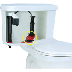 Korky EasyFix Universal Flush Valve Repair Kit with 2 In. Adjustable Flapper