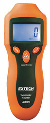 Extech Laser Tachometer, 2 to 99, 999 rpm  461920