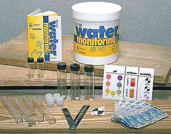 Lamotte Water Test Education Kit,  Colorimetric Test System,  Number of Tests 10