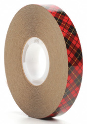 """1/2"""" X 36 yd. Adhesive Transfer Tape,  Kraft Paper Liner, 2.00 mil Thick, 1 EA"""