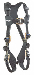 3m Dbi-sala Arc-Flash Rated Full Body Harness Black  1103088