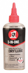 3-in-one Dry Lubricant Drip Oil   120022