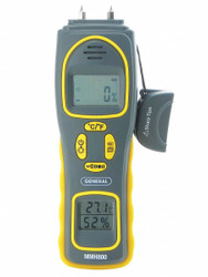 General Pin/Pinless Moisture Meter with Temp/RH  MMH800
