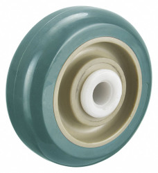 Albion Antimicrobial Polyurethane Tread on Plastic Core Wheel