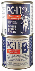 Pc Products Epoxy Adhesive,  Can,  1 lb.,  Off-White,  20 min. Work Life 160114