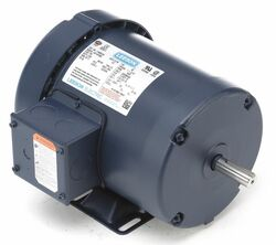 1 HP 50 Hz Motor, 3-Phase, 1425 Nameplate RPM, 220/380/440 Voltage, Frame 56