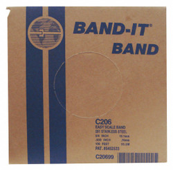 "Band-it Band,  201/301SS 3/4"" x 0.030"" x 100'   C20699"