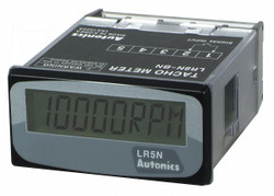Autonics Pulse Meter, 1/32 DIN, 10, 000 RPM  LR5N-B