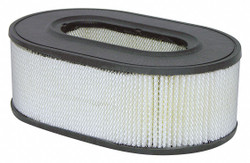 "Air Filter, Oval, 3-5/8"" Height, 3-5/8"" Length, 6-17/32"" to 9-3/4"" Outside Dia."