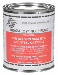 All-state Brazing Flux, Tin Can, 1 lb.  Inorganic Acid  69080204