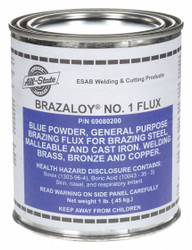 All-state Brazing Flux, Tin Can, 1 lb.  Inorganic Acid  69080200