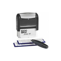 2000plus Customizable Stamp Kit  Plastic 038930
