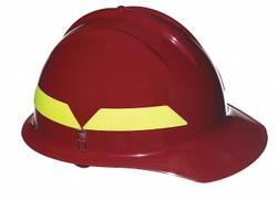 Bullard Fire Helmet Red   FCRDR