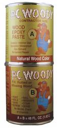 Pc Products Epoxy,Wood Filler,Tan,48 Oz. Can HAWA 643334