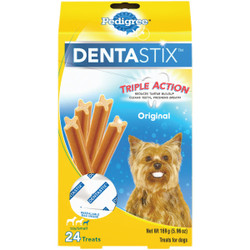 Pedigree Dentastix Toy Dog Original Flavor Dental Dog Treat (24-Pack) 798572