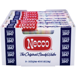 Spangler 2 oz. Necco Wafers 90000 Pack of 24