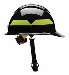 Bullard Wildland Fire Helmet Black   FCBKR