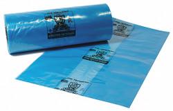 Armor Poly VCI Bags Blue   PVCIBAG4MB272025COEX-D