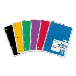 Mead Notebook,1sub,Wr,6/Pk,Ast 73063