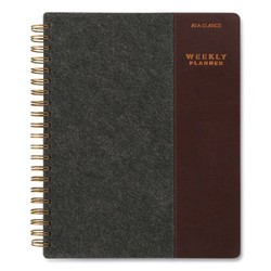 AT-A-GLANCE Planner,Signature Felt,Gy YP90525