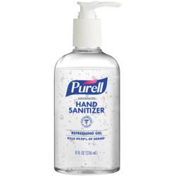 Purell 8 Oz. Advanced Hand Sanitizer Refreshing Gel Pump Bottle 1 Each