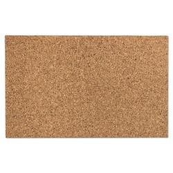 "Designer Cork Bulletin Board, 24"" x 38"", Natural 35010"