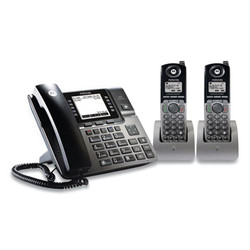 1-4 Line Wireless Phone System Bundle, 2 Additional Cordless Handsets ML1002H