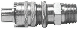 Dix-Lock Quick Acting Couplings, 1/2 in (NPT), Male/Male (NPT)