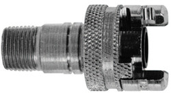 Dual Lock Quick Acting Couplings, 1 in, Hose