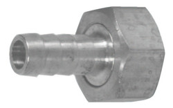 Brass Short Shank Fittings, 3/4 in, Female