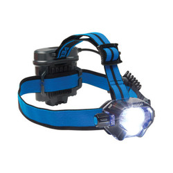 Headlamps, 4 Batteries, AA, 430 lm (High), 53 lm (Low), Black/Blue