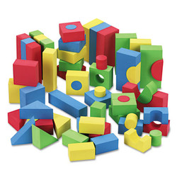 Blocks, Assorted Colors, 68/Pack 4380