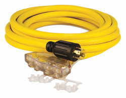 Champion Power Equipment Generator Ext Cord,25ft.,30A,125/250V HAWA 48036
