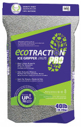 Ecotraction Pro Zeolite Winter Traction, Size: 40 lb., Package Type: Bag ET40X