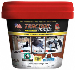 Traction Magic Instant Traction Agent, Size: 15 lb., Package Type: Bucket 90000
