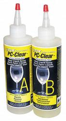 Pc Products Epoxy,Fast Setting,16 oz.,Clear HAWA 070161