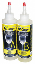 Pc Products Epoxy,Fast Setting,16 oz.,Clear  070161
