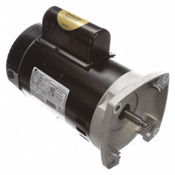 1 HP Pool and Spa Pump Motor, Permanent Split Capacitor, 115/230V, 56Y Frame