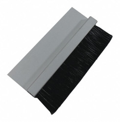 """1"""" Brush Weatherseal with 1-1/2"""" Straight Holder, 8 ft. Overall Length"""