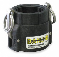 "Banjo Cam and Groove Coupling,1"",Polypropylene  100D"
