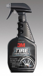 3m 16 oz. Spray Bottle Rubber Treatment/Tire Dressing, White White   39042