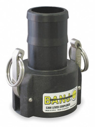 "Banjo Cam and Groove Coupling,1"",Polypropylene  100C"