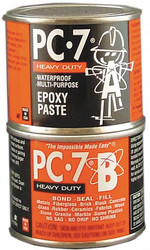 Pc Products Epoxy Adhesive,  Can,  8.00 oz.,  Gray,  30 min. Work Life 087770