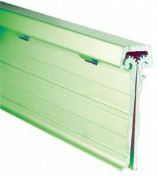 "180° Continuous Hinge With Holes, Mill Aluminum, Door Leaf: 1-5/8"" x 1-7/8"" W"
